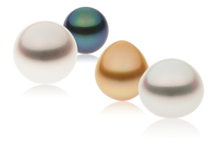 South Sea Pearls In Different Hues