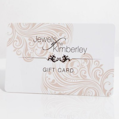 Gift Card From Jewels of the Kimberley