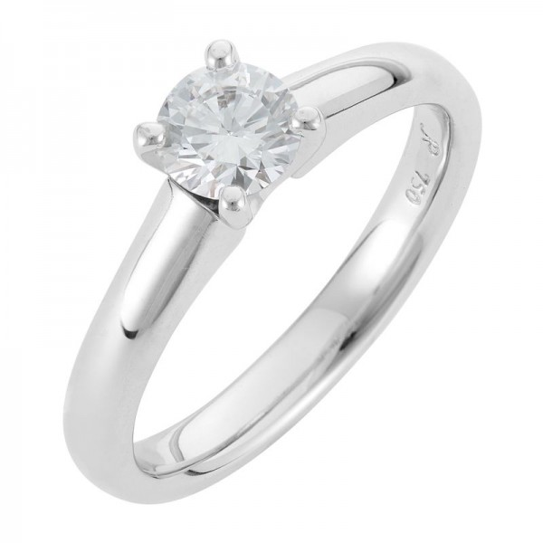 Solitaire Diamond Engagement Ring - The Alyssa