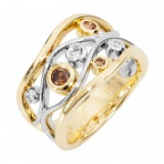 Kimberley Diamond and Gold Ring - The Berkley River