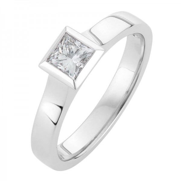 Princess Cut Engagement Ring - The Emma