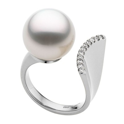 Unique South Sea Pearl Ring - The Fishtale