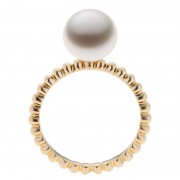 Yellow Gold Ring With A Broome Pearl - The Polka Dot