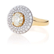 Yellow Diamond Ring - The Evelyn