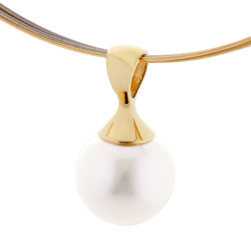 South Sea Pearl Pendant in 18ct Gold - The Anita