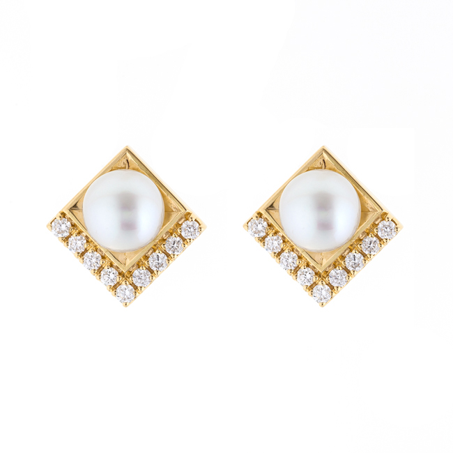 Broome South Sea Pearl Stud Earrings - Zeta