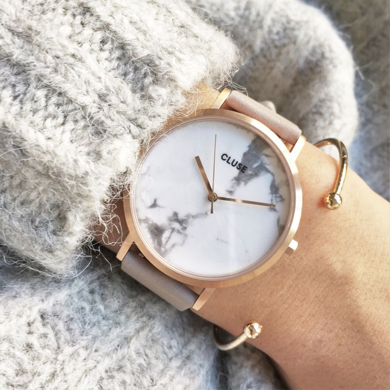 LA ROCHE ROSE GOLD WHITE MARBLE/GREY - Jewels of the Kimberley