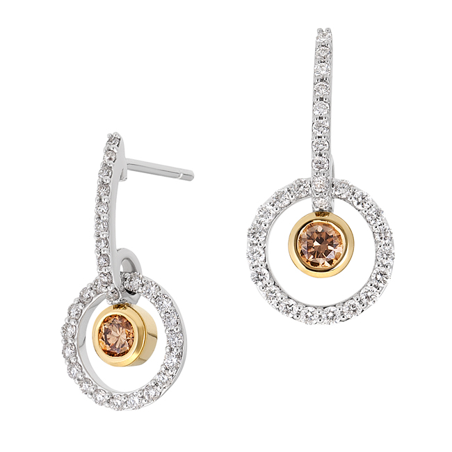 Champagne-and-White-Diamond-Earrings-Petite-Alluvial
