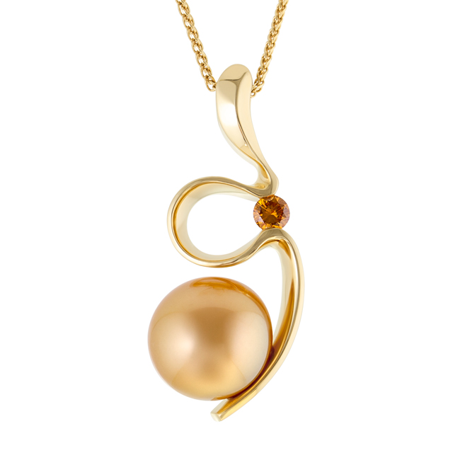 Gold-Pearl-and-Orange-Diamond-Silhouette-Pendant-b