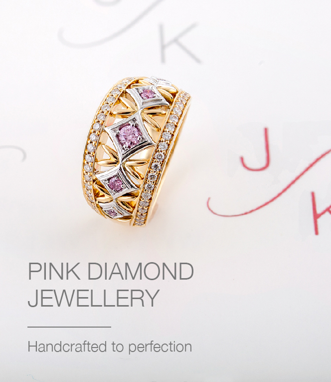 Pink Diamond Jewellery