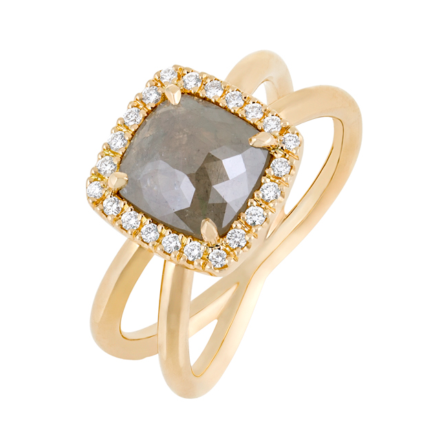 Xenon Earth Diamond Ring In Gold Jewels Of The Kimberley