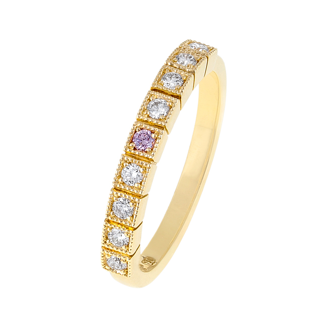 Unique Rose Gold Enement Rings | Pink Diamond Rings Designer Jewellery Jewels Of The Kimberley
